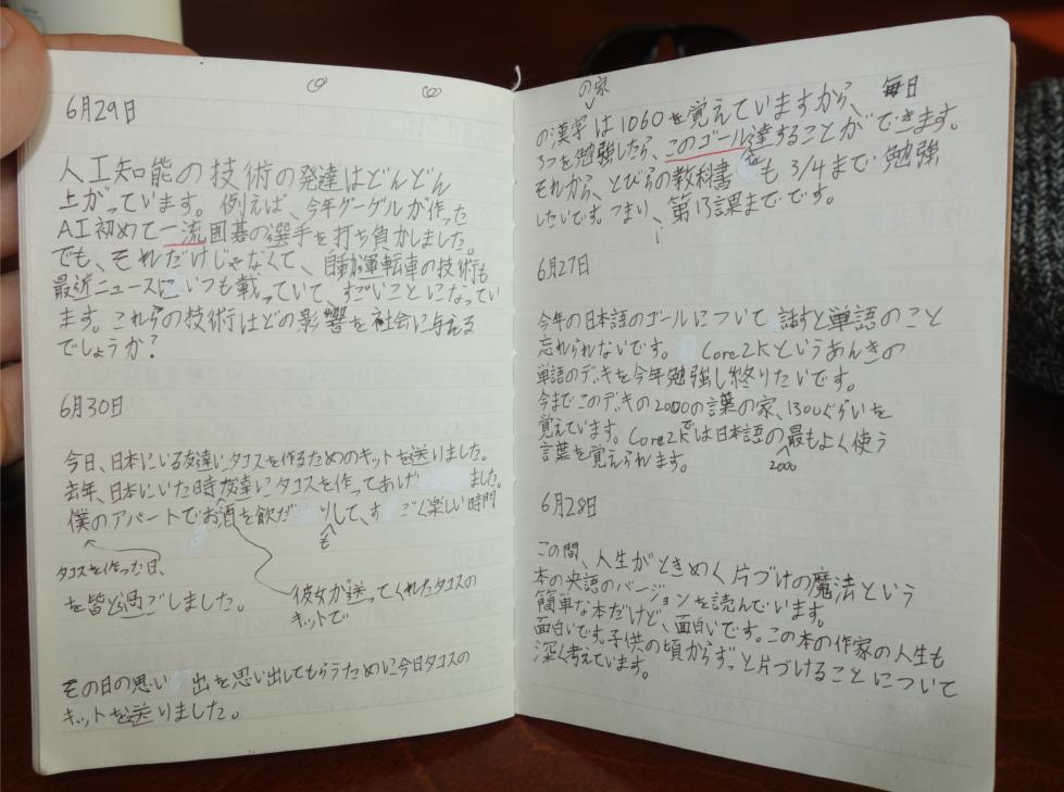 Japanese Diary