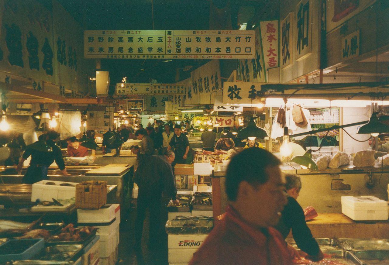 Tsukiji Fish Market must do in Tokyo Japan
