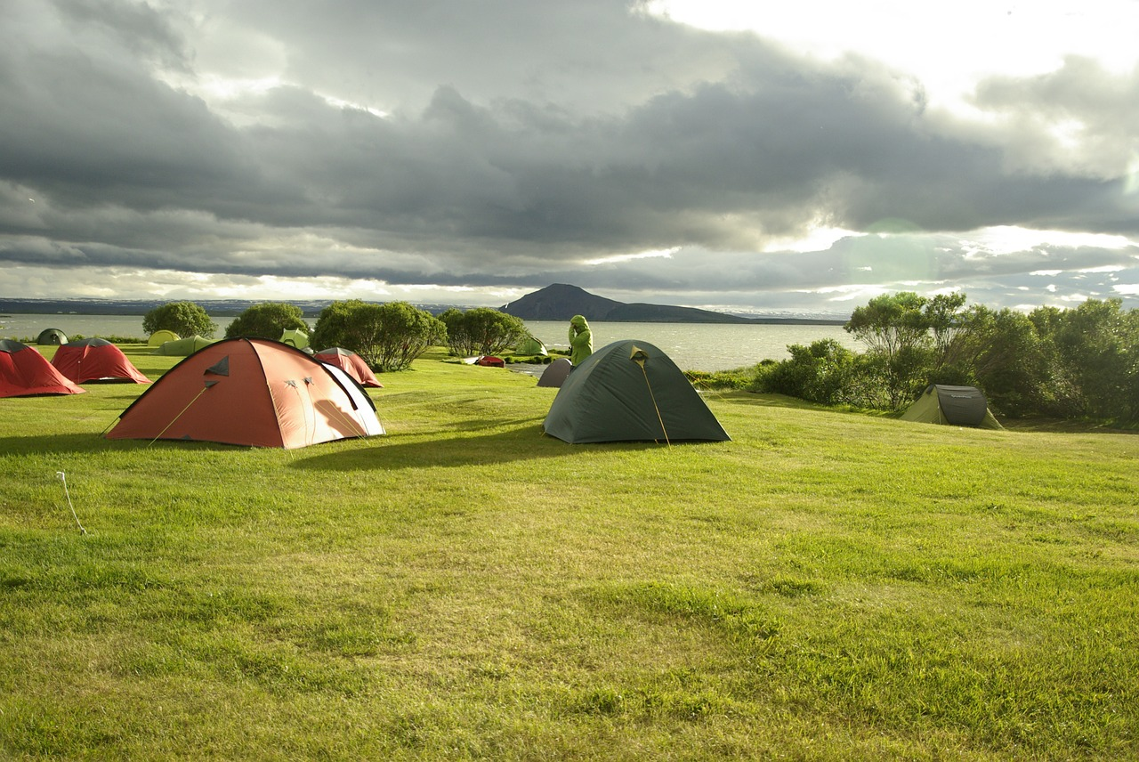 camping iceland august