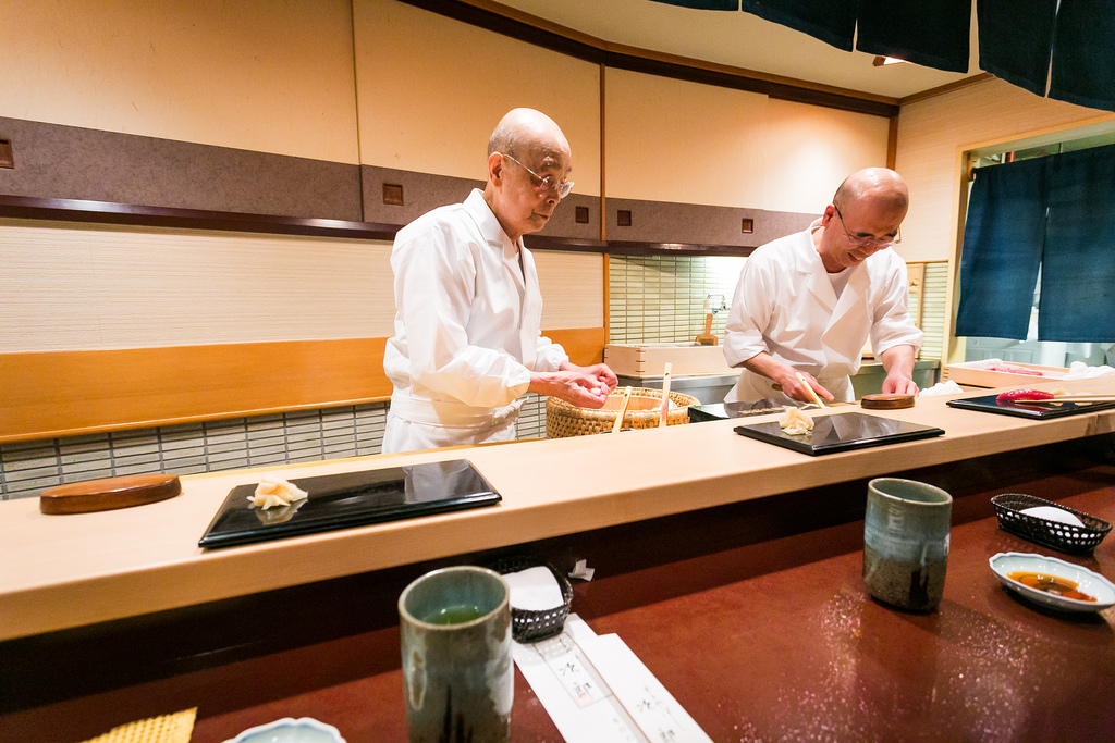 Jiro Dreams of Sushi restaurant on luxury travel Japan