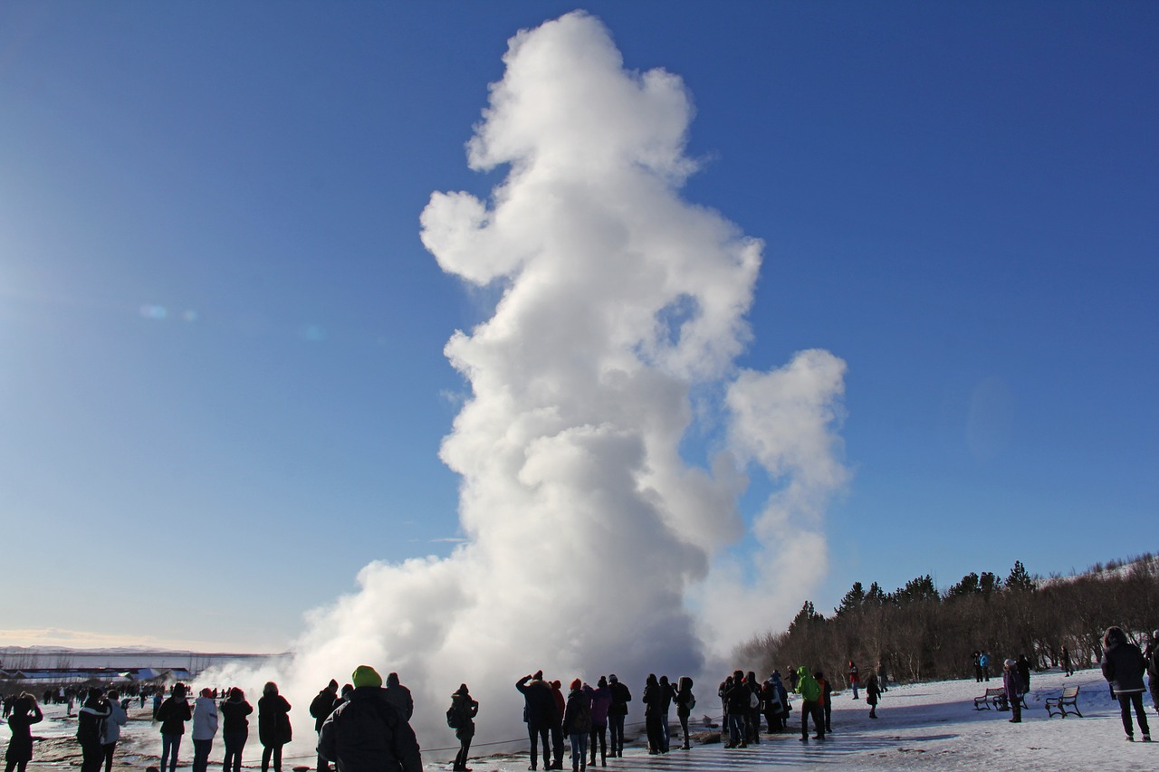 iceland geothermal volcanic spring