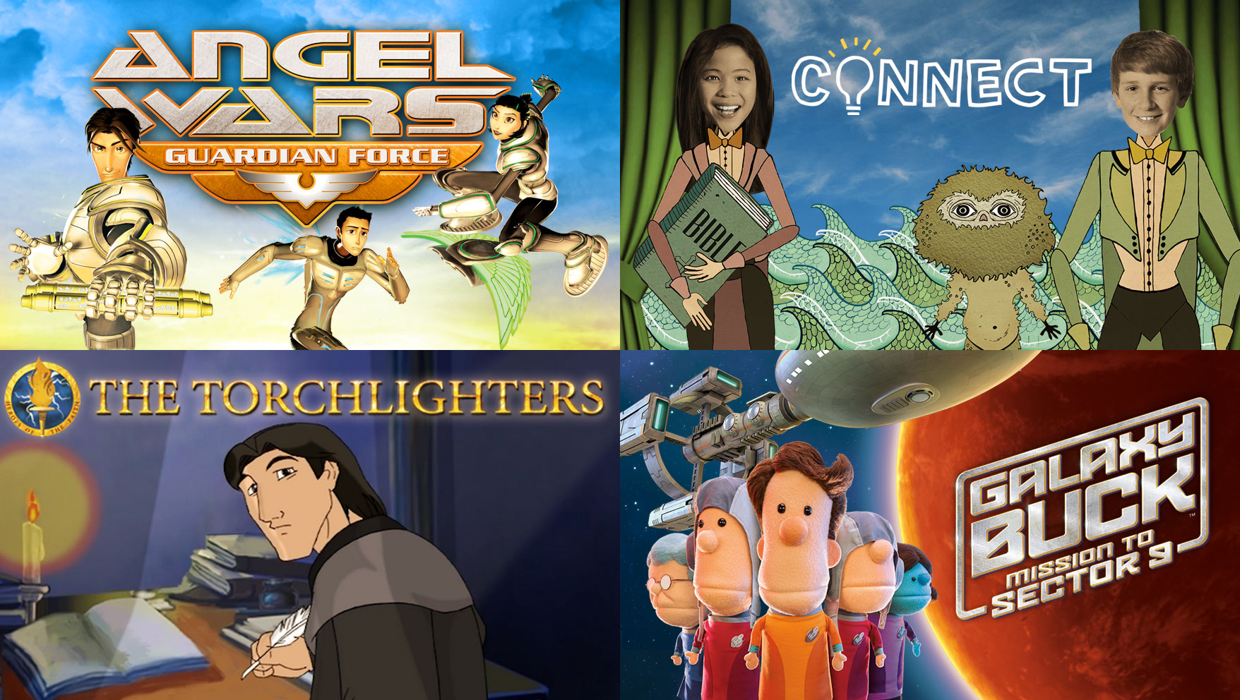 The Best Christian Shows for Pre-Tweens