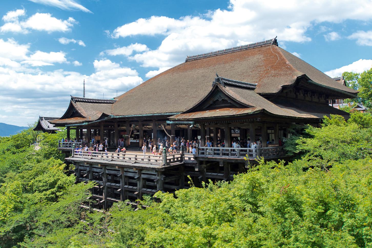 Kiyomizu-dera Temple kyoto japan itinerary