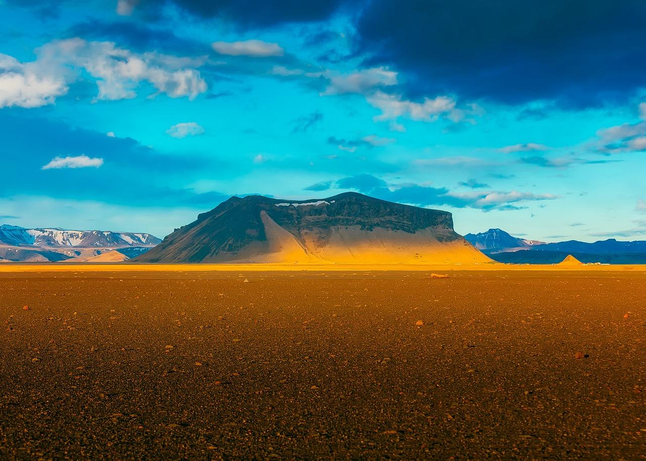 Iceland sunset honeymoon