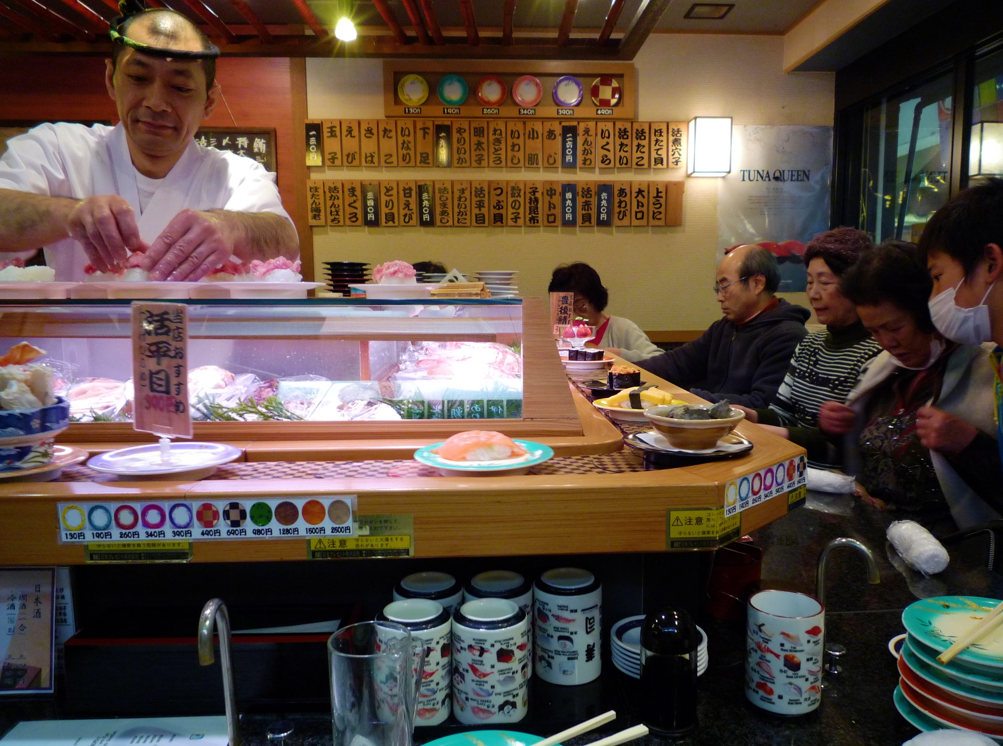 sushi conveyor belt japan food tips