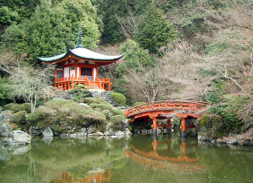 Daigoji Temple kyoto japan itinerary
