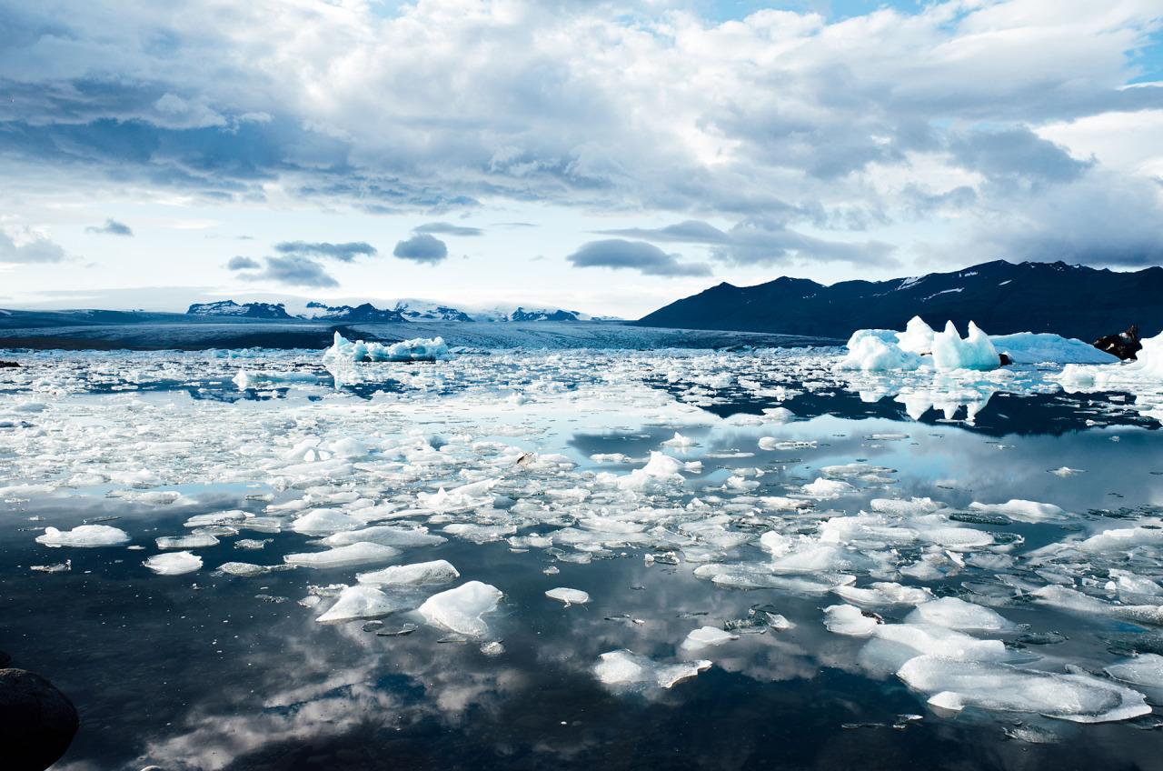iceland ice landscape